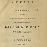 st george tucker dissertation on slavery St george tucker (1752-1827) was a distinguished law teacher, legal scholar, and judge this paper examines tucker's condemnation of slavery and how other aspe.