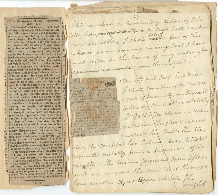 Manuscript Paper Notebook Manuscript Notebook