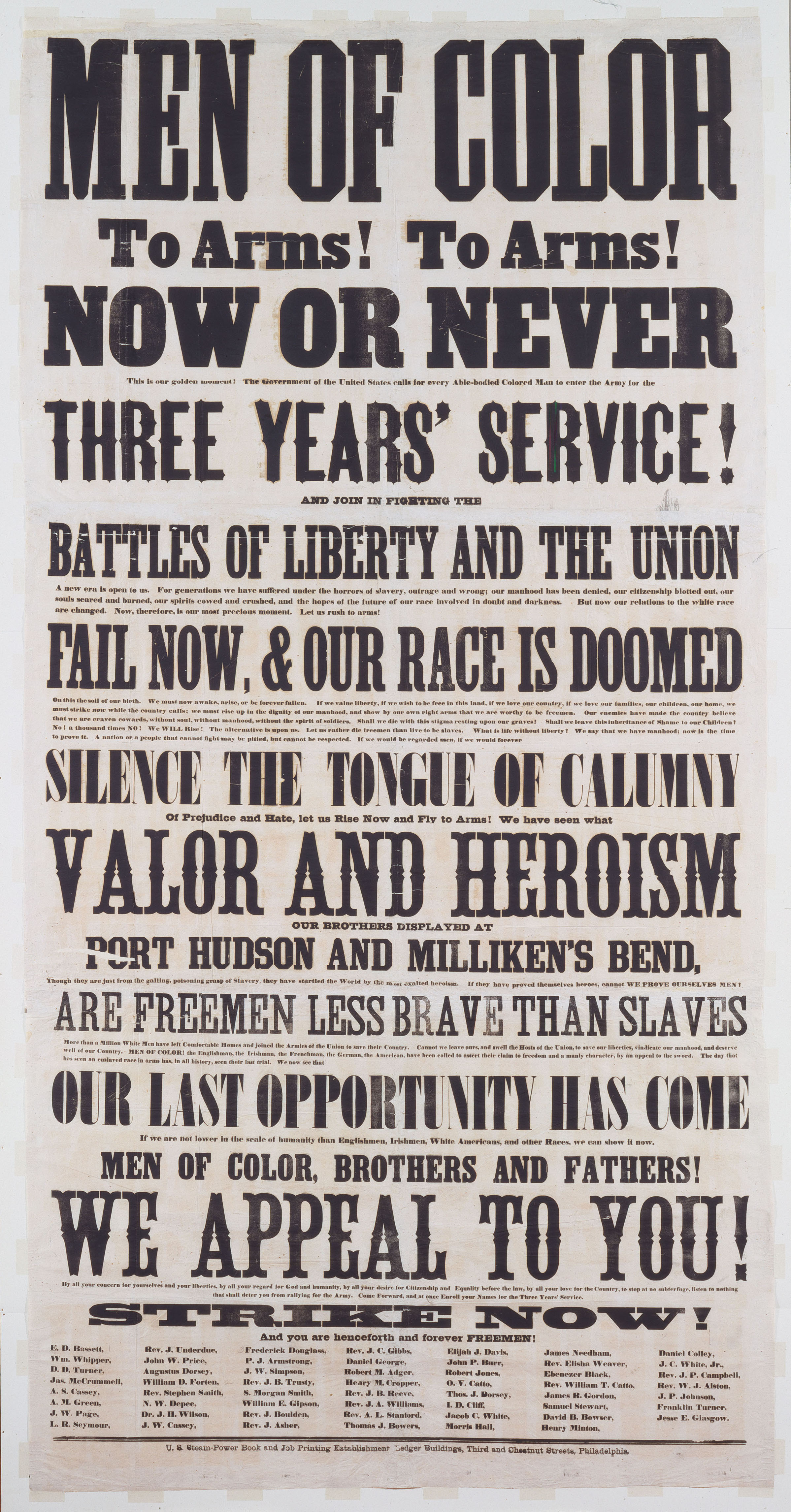 Image result for call to arms douglass