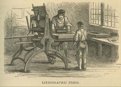 """Alois Senefelder, """"Introduction"""" to A Complete Course of Lithography: To which is Prefixed a History of Lithography, from Its Origin to the Present Time (London: R. Ackerman, 1819). Courtesy of the Temple University Libraries, Rare Books and Manuscripts Collection."""