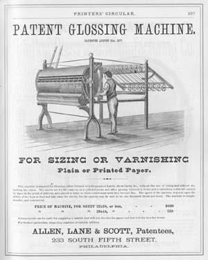 Printers' Circular (October 1877).