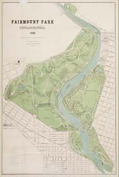 Fairmount Park, Philadelphia (Philadelphia: F. Bourquin, Lith., 1869). Lithograph, tinted with two stones.