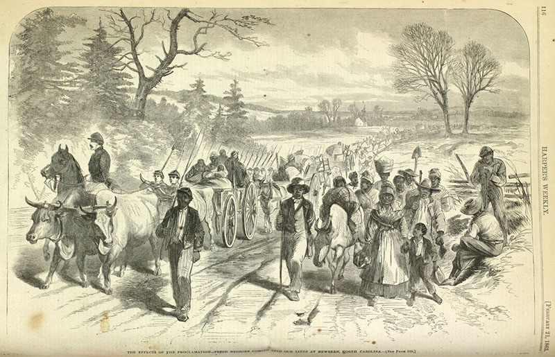 the effects of the emancipation proclamation by president lincoln in 1863 on slavery Read full text and annotations on the emancipation proclamation text of lincoln's 1863] by the president of the effects of the emancipation proclamation.