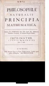Isaac Newton, Philosophiae Naturalis Principia Mathematica. London, 1867.