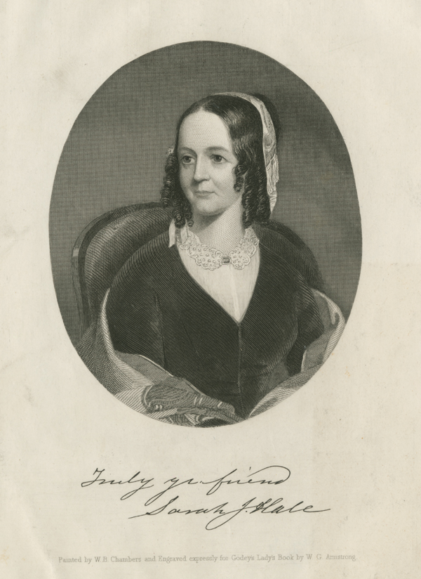 SARAH JOSEPHA HALE (1788-1879)