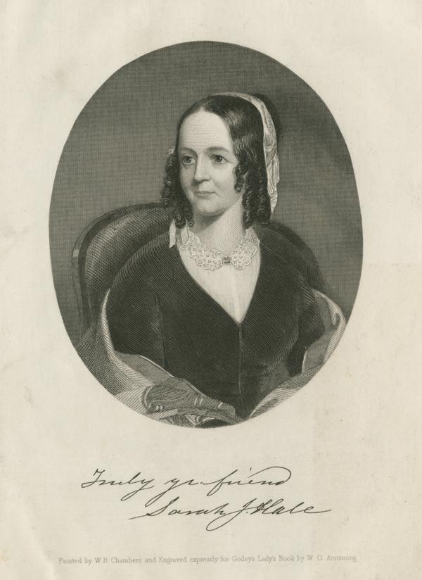 SARAH JOSEPHA HALE (1788-1879)
